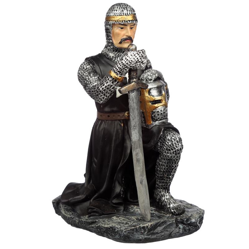 Collectable Dark Knight Kneeling Figurine