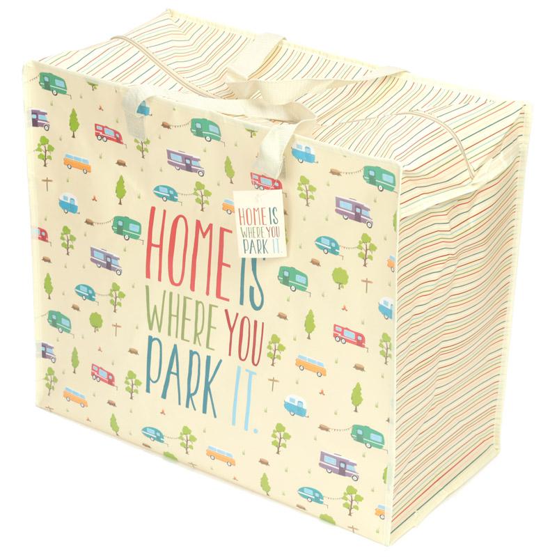 Fun Practical Laundry  Storage Bag Caravan Design