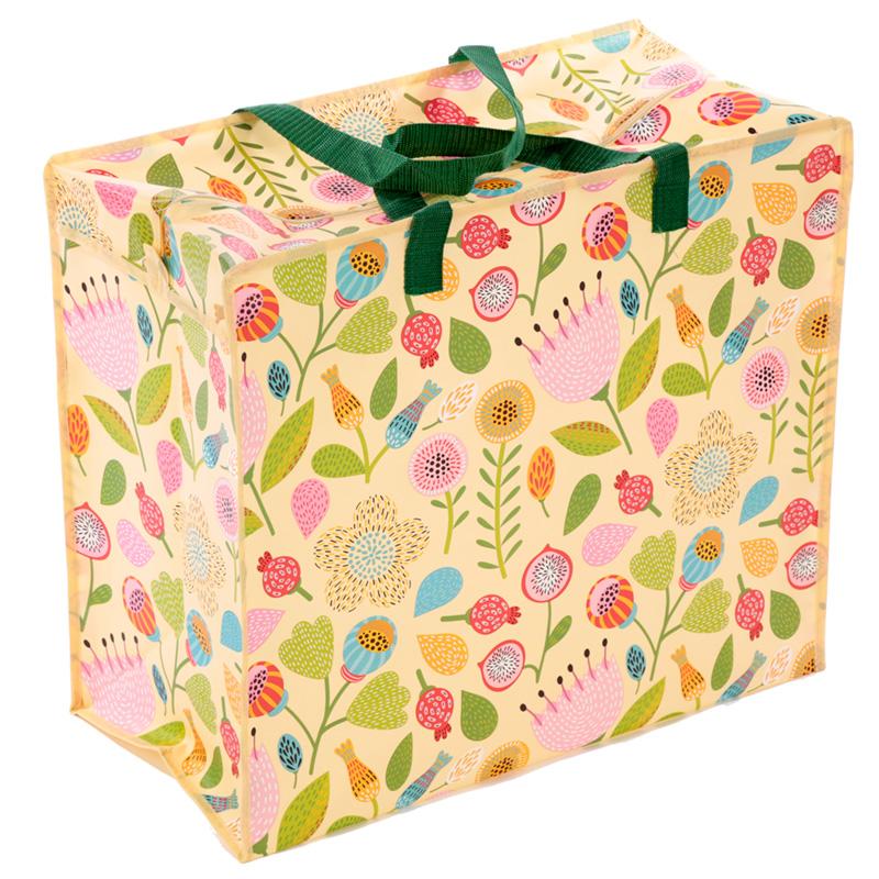 Fun Practical Laundry  Storage Bag Autumn Floral Design