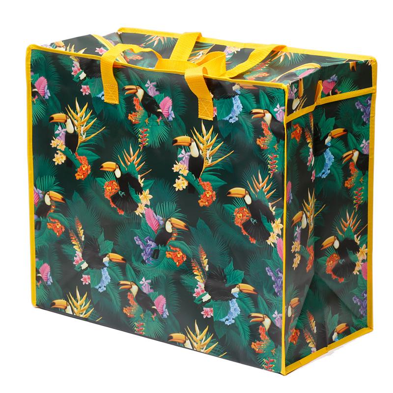 Fun Practical Laundry  Storage Bag Toucan Party