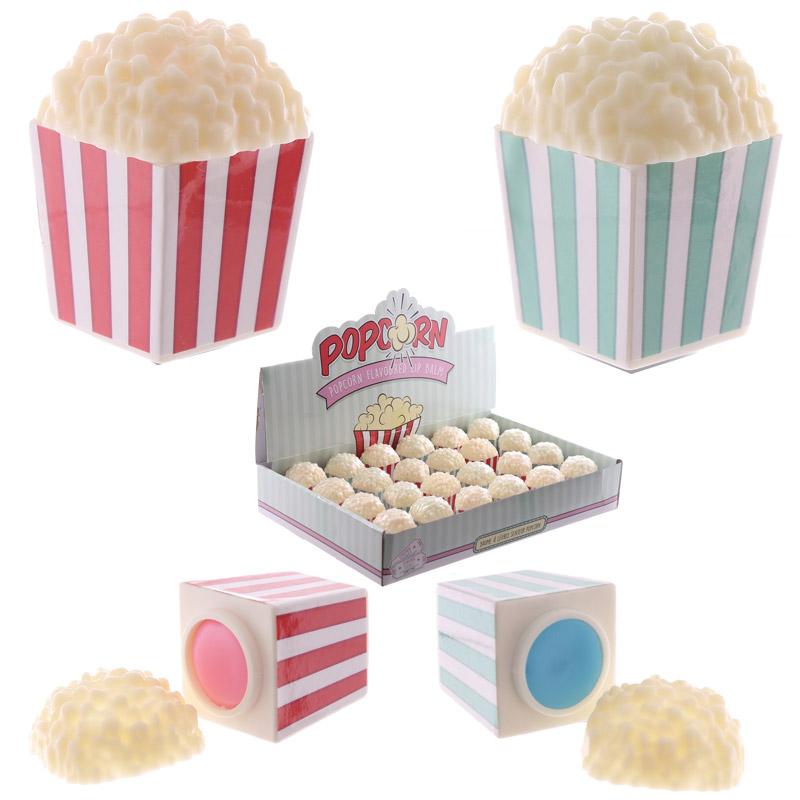 Funky Lip Balm Popcorn Holder