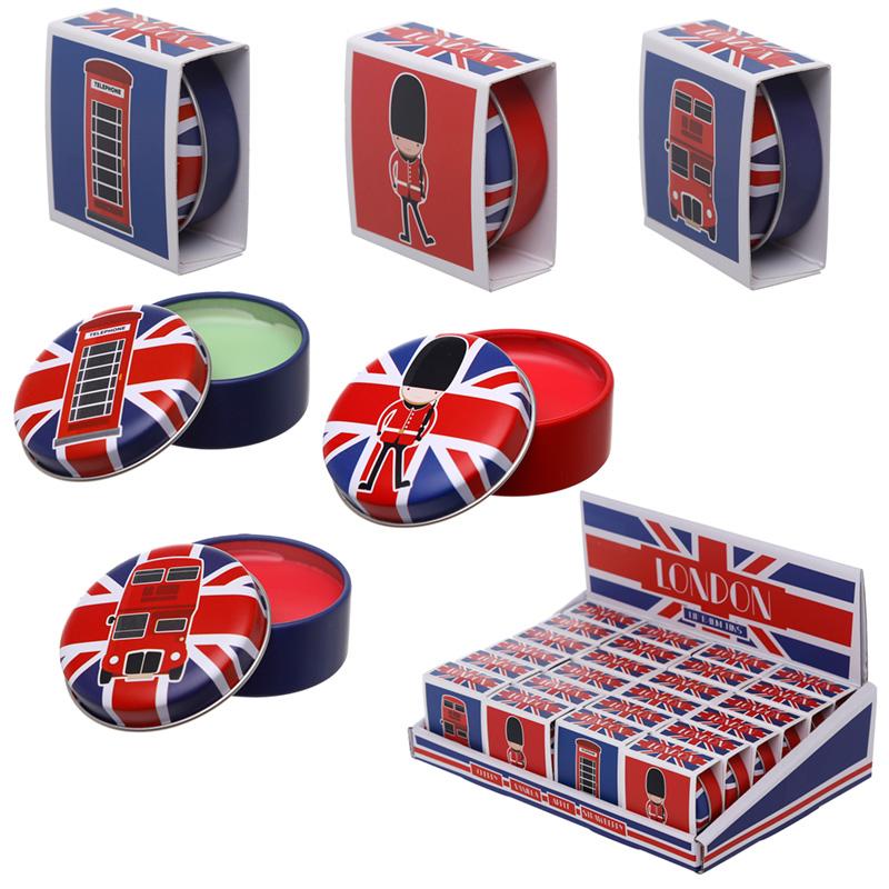 Funky Lip Balm in a Tin London Designs