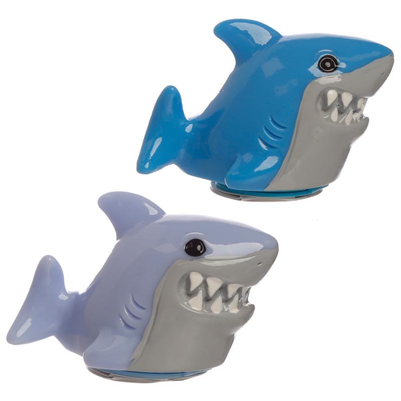 Funky Lip Balm Shark Cafe Shaped Holder