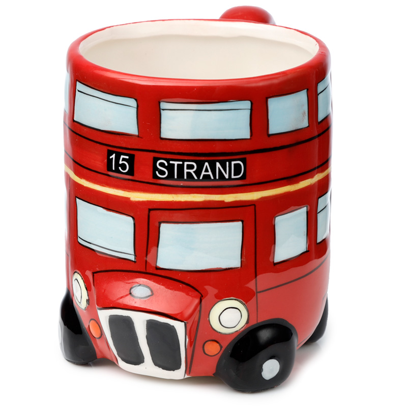 Fun Novelty Routemaster Red Bus Mug
