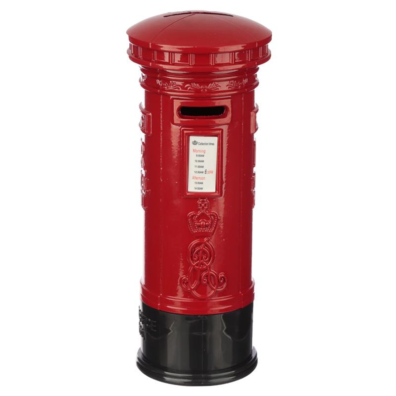 London Souvenir Pencil Money Box Large Red Post Box