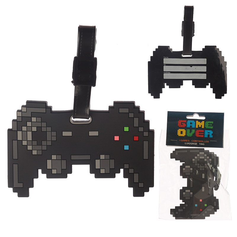 Novelty PVC Luggage Tag Game Controller