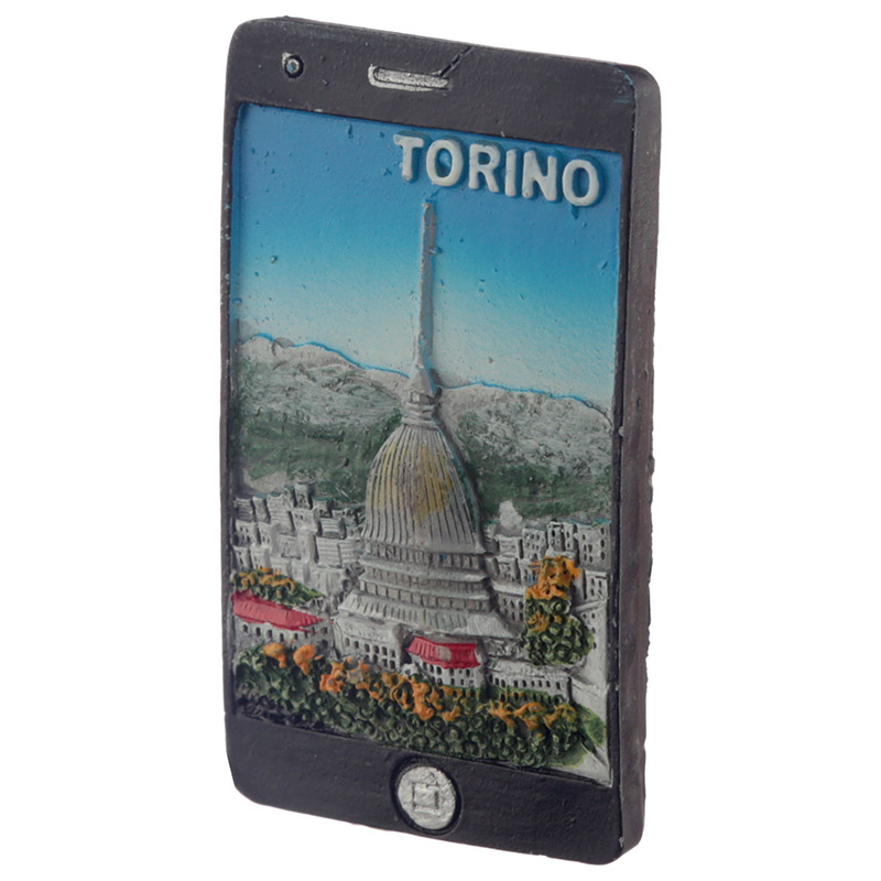 Fun Novelty Torino Mole Smart Phone Shaped Magnet