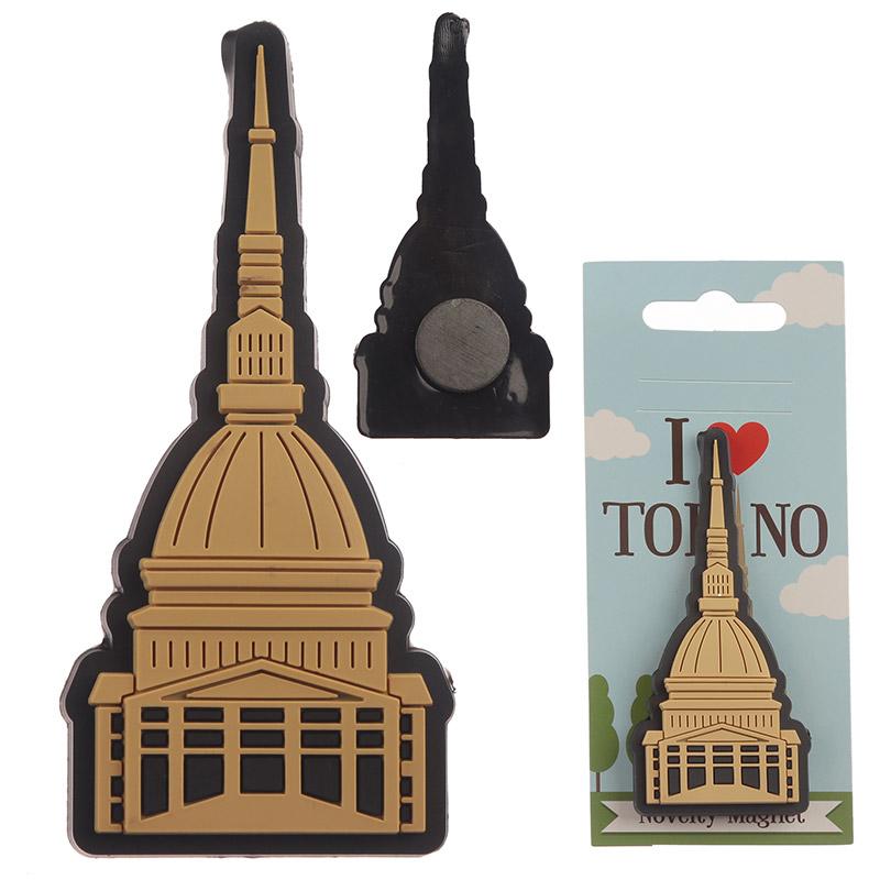 Novelty PVC Magnet Torino Mole
