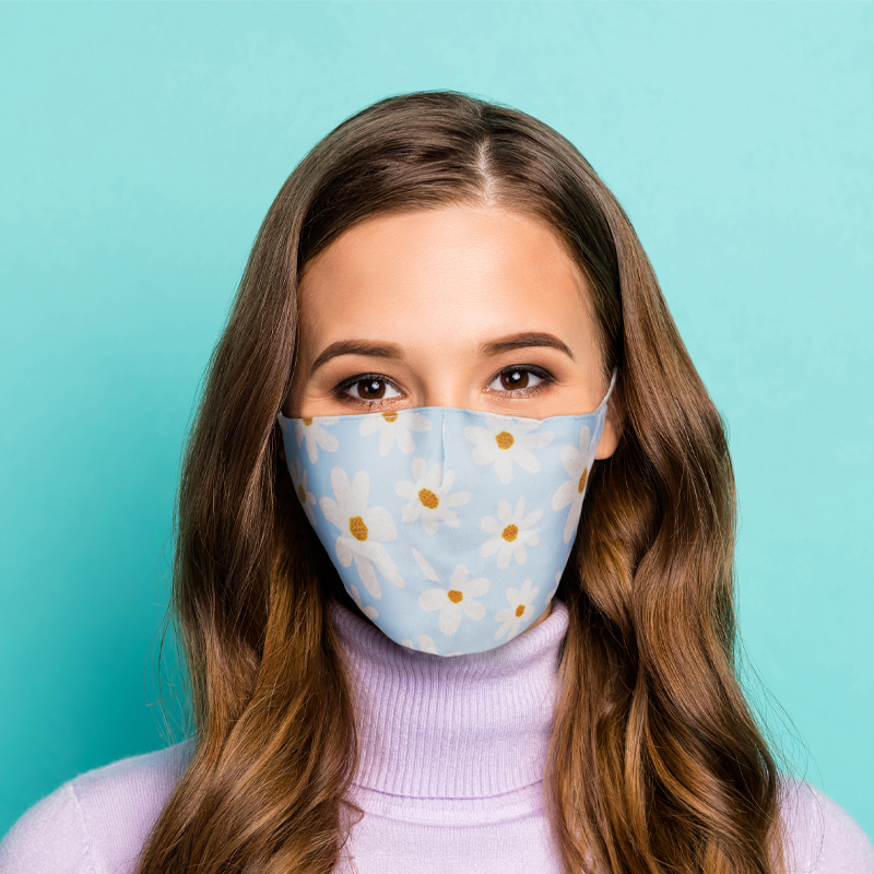 Oopsie Daisy Reusable Face Covering Large