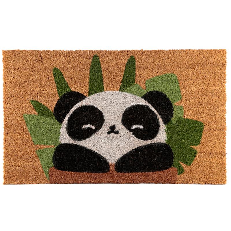 Coir Door Mat Panda Design