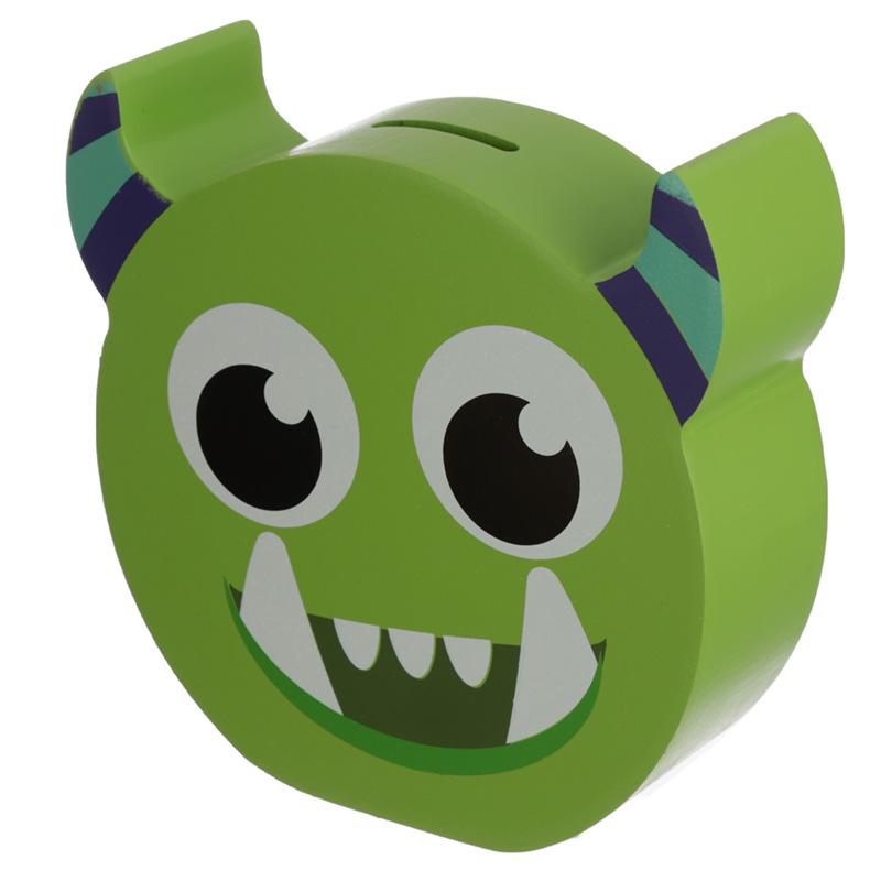 See Your Savings Money Box Green Monster Monstarz