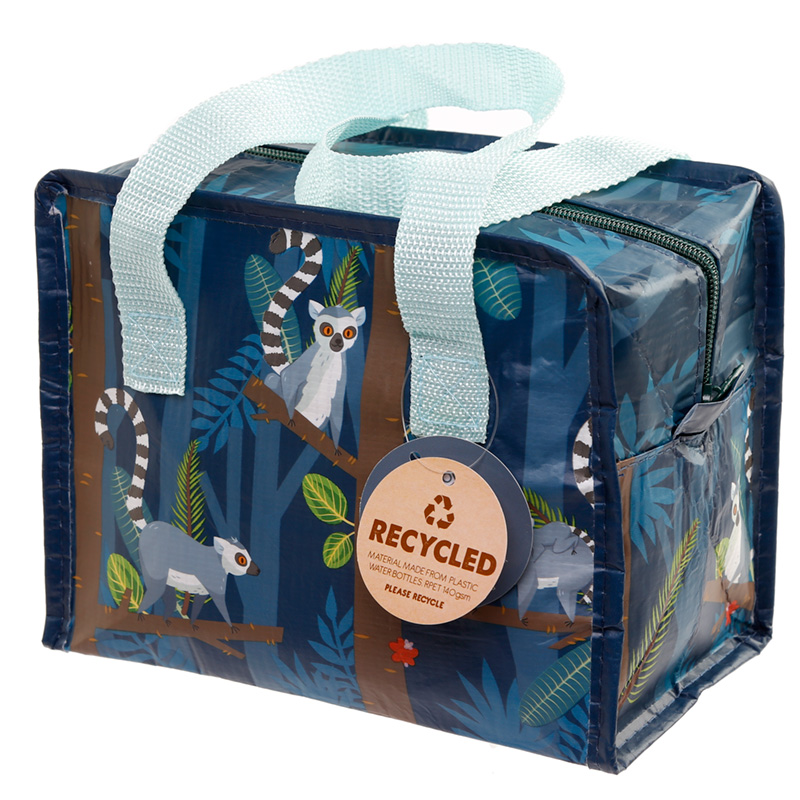 Spirit of the Night Lemur Recycled Plastic Reusable Lunch Bag