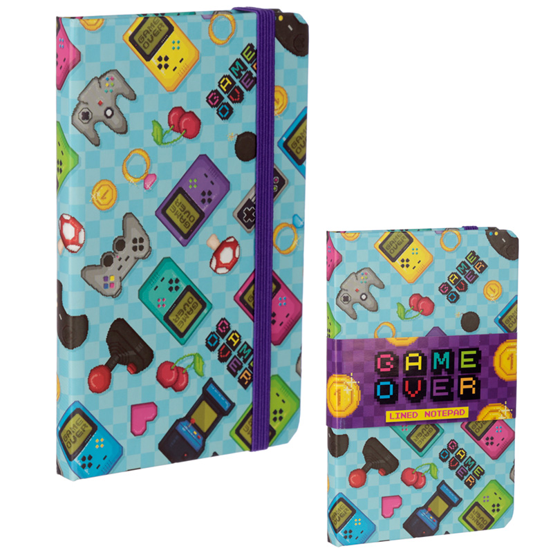 Collectable Hardback Notebook Retro Gaming Design