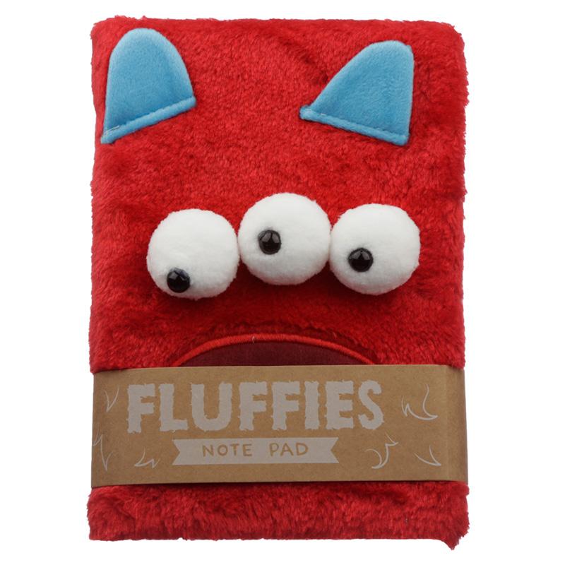 Fluffy Plush Notebook Monster Monstarz