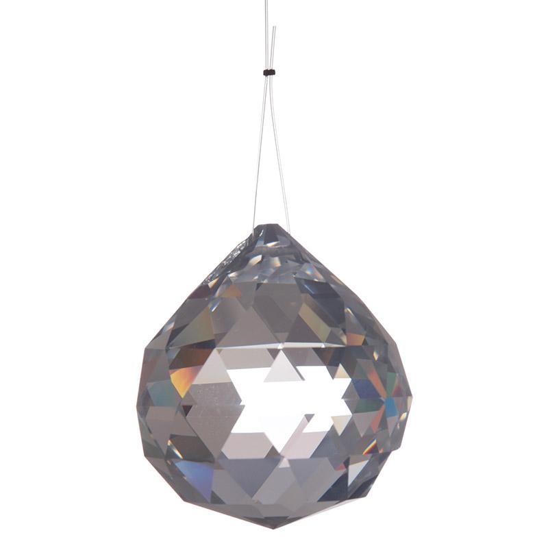 Decorative Glass Hanging Crystal Medium