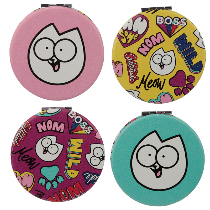 Fun Collectable Simons Cat Pawsome Compact Mirror