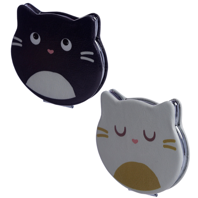 Fun Collectable Feline Fine Cat Compact Mirror