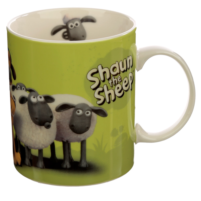 Collectable Porcelain Mug Shaun the Sheep