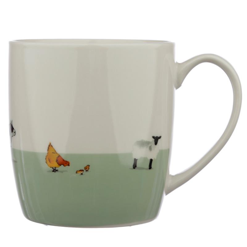 Collectable Porcelain Mug Willow Farm