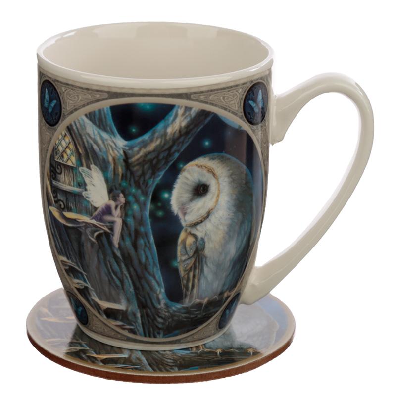 Porcelain Mug and Coaster Gift Set Lisa Parker Fairy Tales