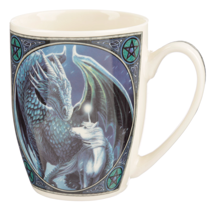 Lisa Parker Porcelain Mug Protector of Magick Dragon