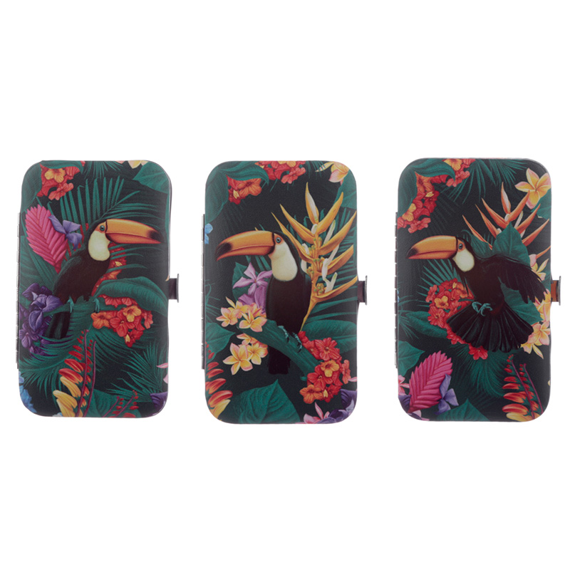 Tropical Toucan Party Design Manicure Set
