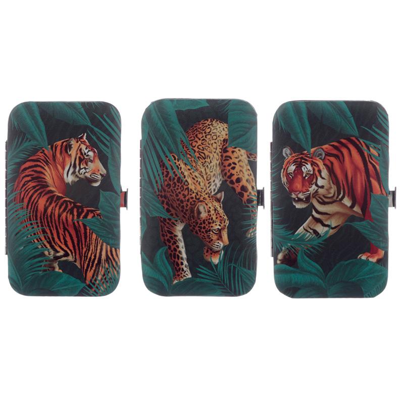 Big Cat Spots and Stripes Manicure Set