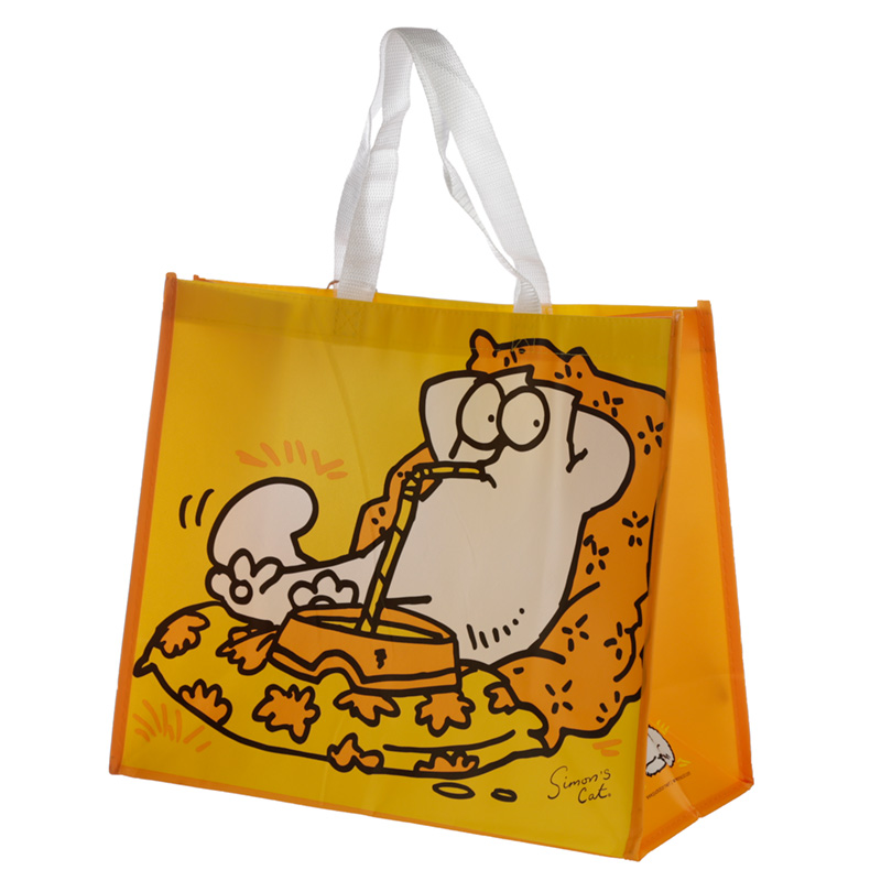 Simons Cat Durable Reusable Shopping Bag