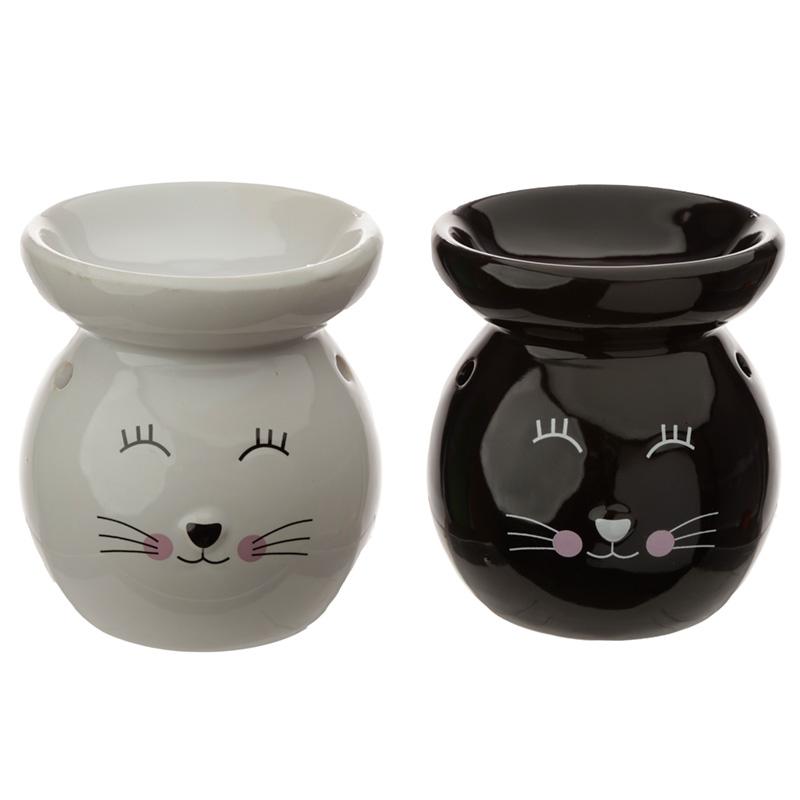 Ceramic Cat Face Ceramic Eden Oil Burner