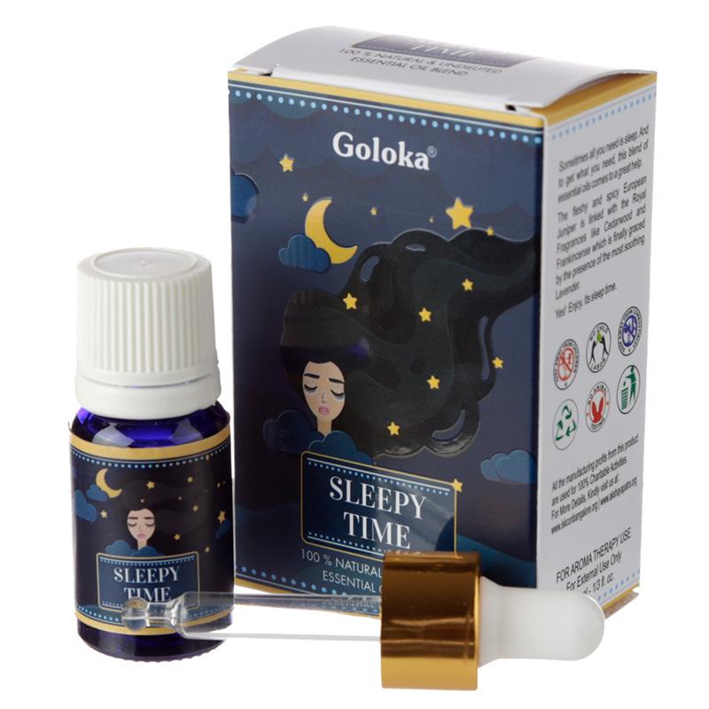 Goloka Blends Essential Oil 10ml Sleepy Time