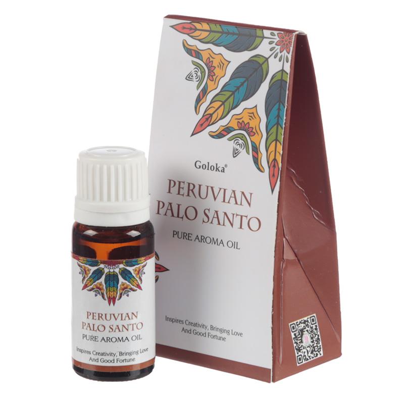 Goloka Fragrance Aroma Oils Peruvian Palo Santo