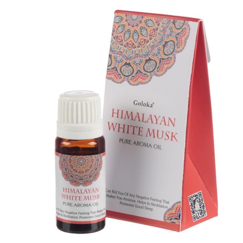 Goloka Fragrance Aroma Oils Himalayan White Musk