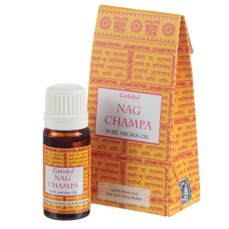 Goloka Fragrance Aroma Oils Nag Champa