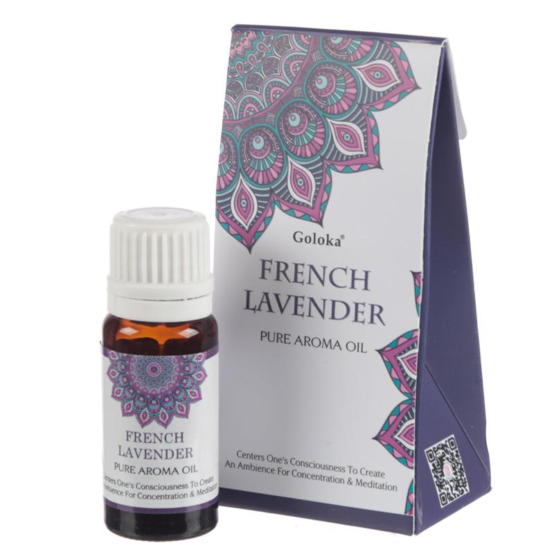 Goloka Fragrance Aroma Oils French Lavender