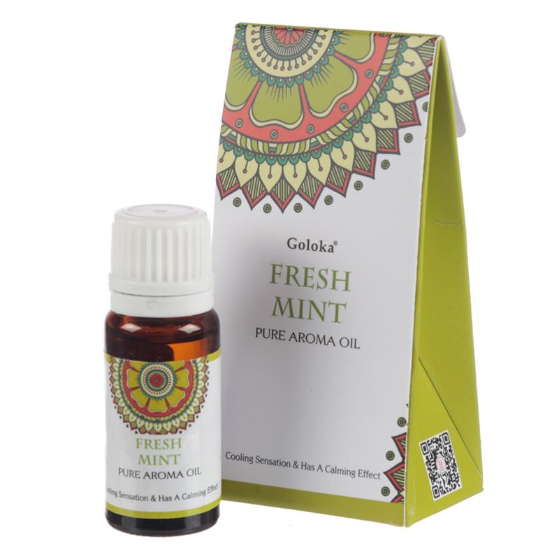 Goloka Fragrance Aroma Oils Fresh Mint
