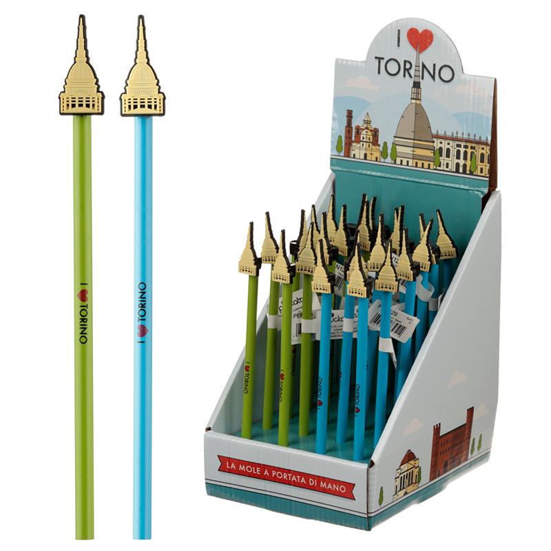 Novelty Torino Mole Pencil with PVC Topper