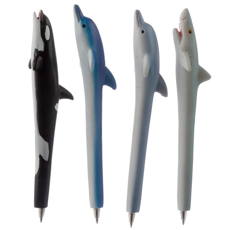 Cute Novelty Sea Creature Pen Dolphin Shark Whale