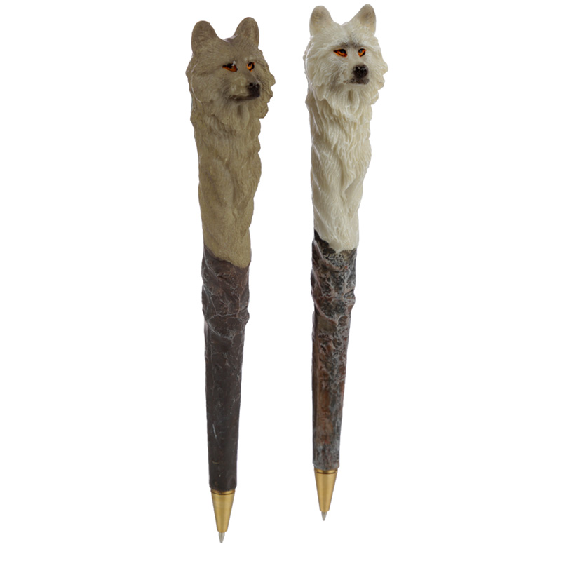 Night Protector Protector of the North Novelty Wolf Pen