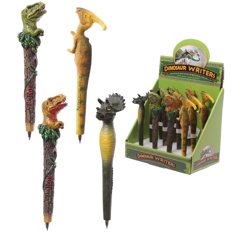 Novelty Collectable Character Pen Dinosaur