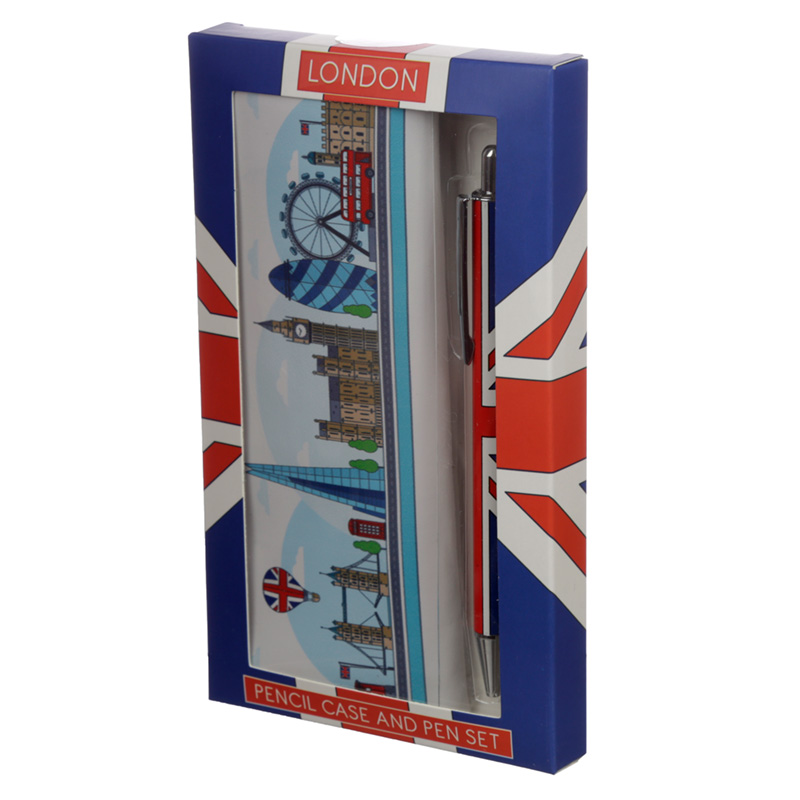 Pen  Pencil Case Set London Icons