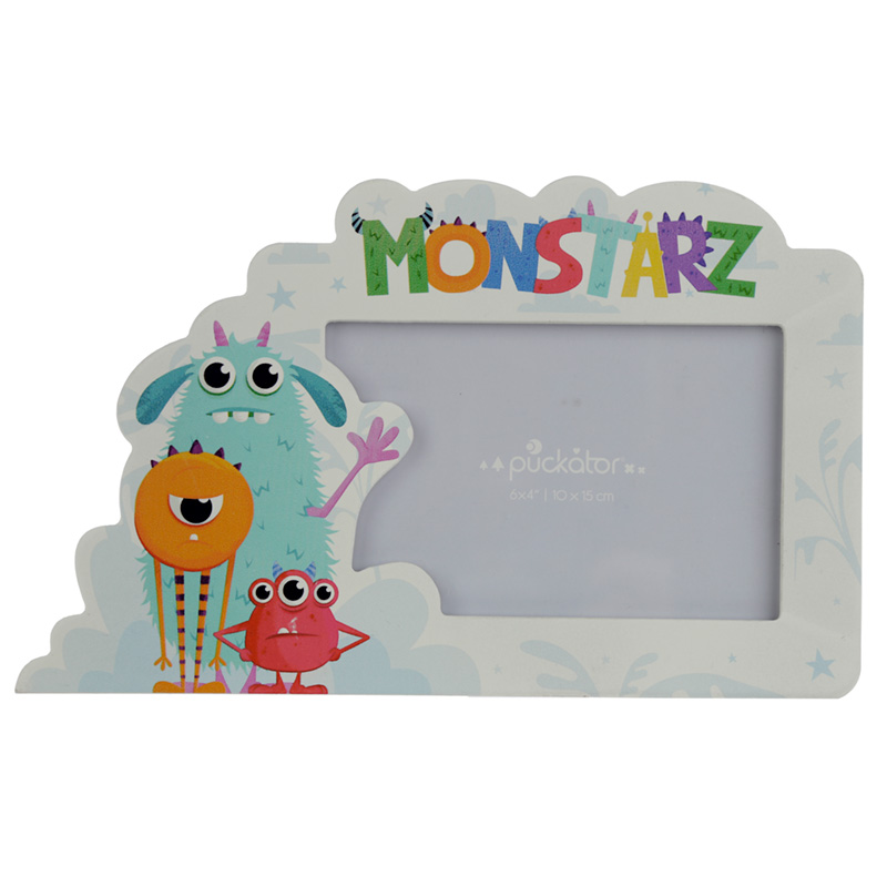 6 x 4 Wooden Photo Frame Monster Monstarz