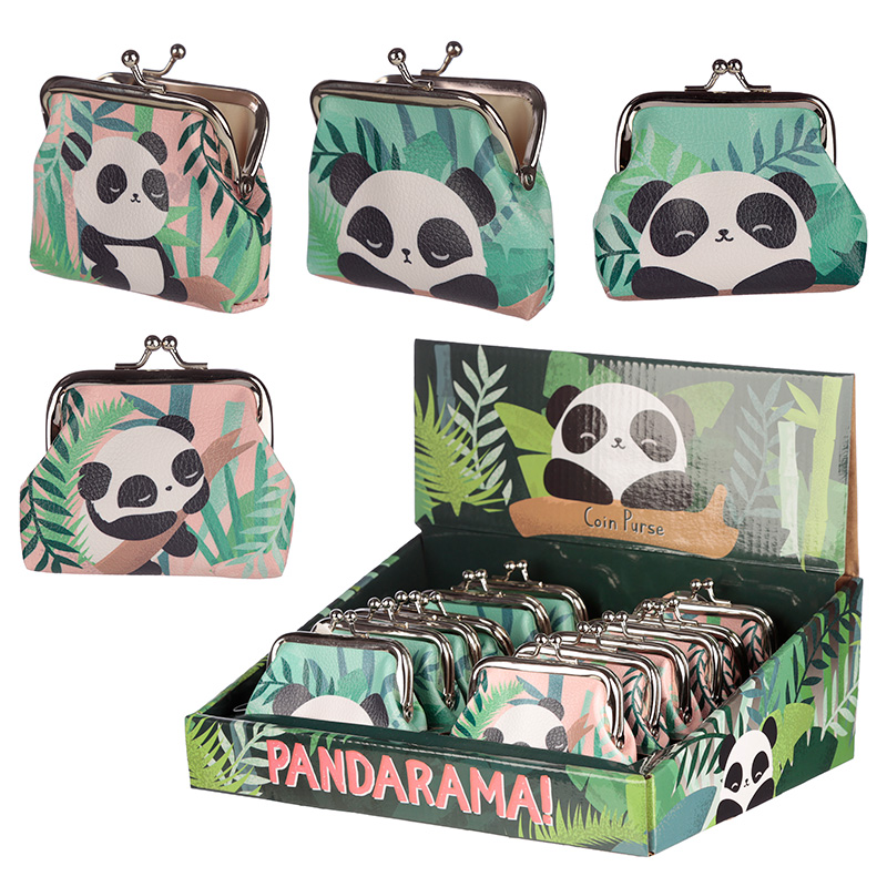 Cute Panda Tic Tac Change Purse