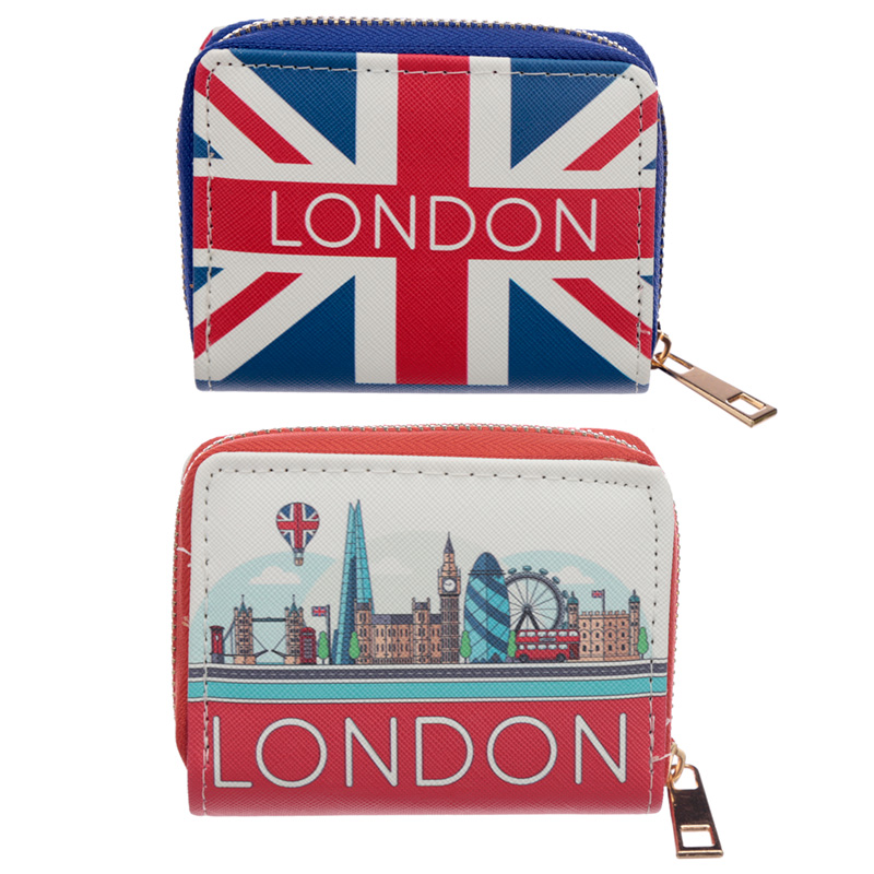 Small Zip Around Wallet London Icons