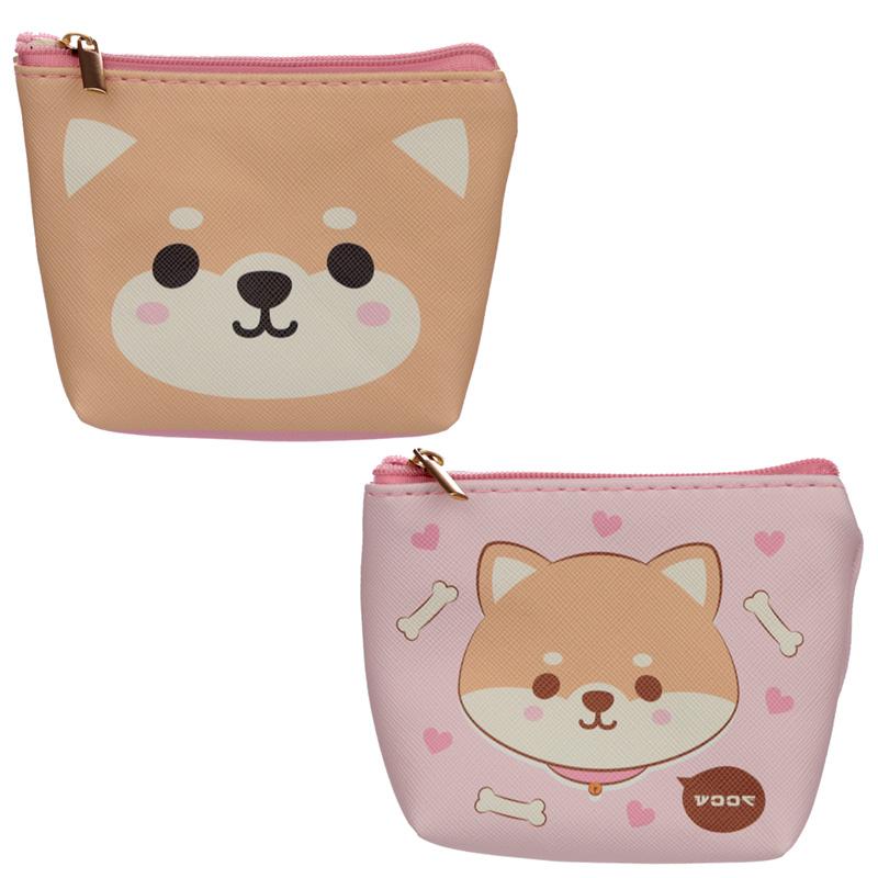 Handy PVC Purse Cutiemals Shiba Inu Dog