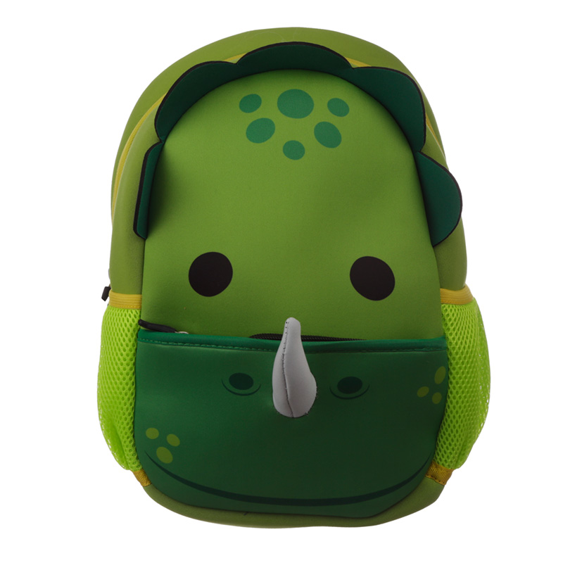 Kids School Neoprene RucksackBackpack Dinosaur