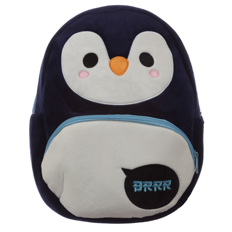 Kids School RucksackBackpack Cutiemals Penguin