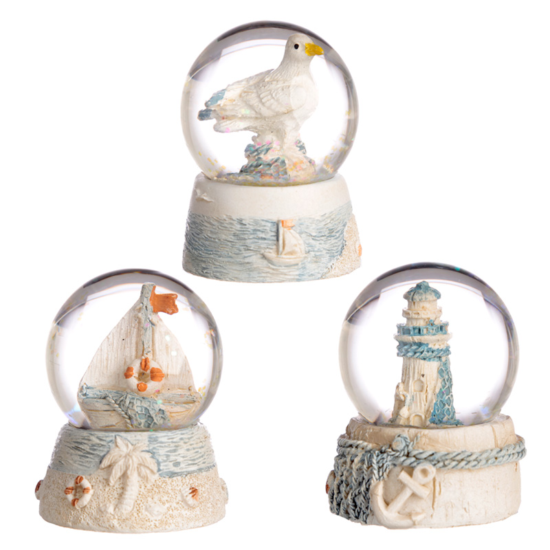 Collectable Nautical and Seaside Snow Globe