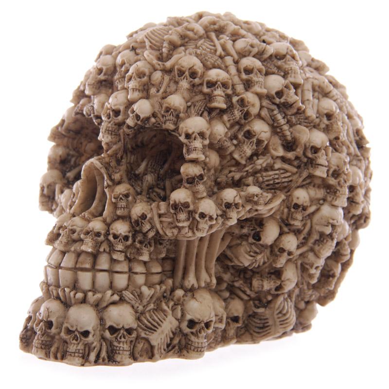 Fantasy Multiple Skulls Ornament