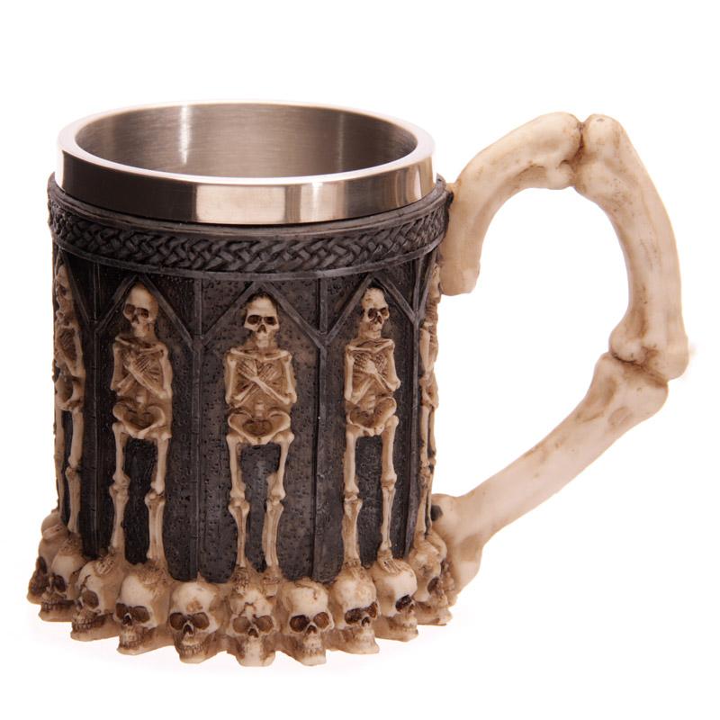 Fantasy Crypt Skull Tankard