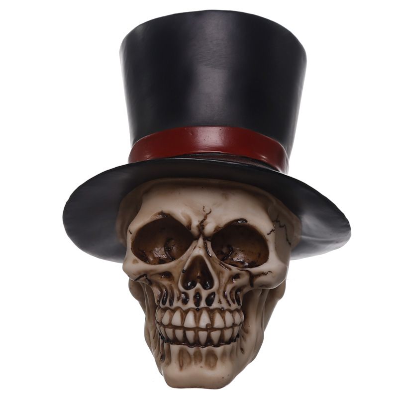 Gothic Wedding Day Skull Groom Ornament
